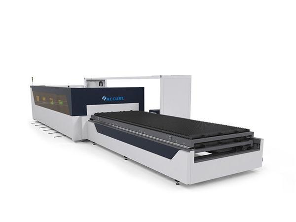 4mm karbon keluli lembaran paip lembaran cnc serat laser mesin pemotong dengan raytools