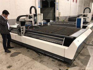 mekanikal cnc serat laser mesin pemotong dengan penghantaran skru bola