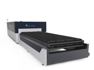 plat / tiub logam serat laser pemotong mesin 1000 watt usa memotong kepala lasermech