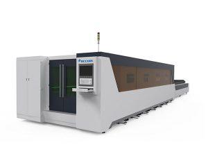 pemprosesan logam mesin pemotong laser industri penuh dilindungi jenis 1000w
