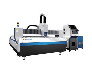 serat jenis mesin pemotong logam serat yang terbuka, cnc laser engraving cutting machine