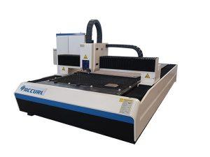 2000w serat laser mesin pemotong yang digunakan dalam pinggan keluli ringan / plat besi