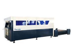 satu platform cnc serat laser mesin pemotong, pemotong kunci logam