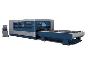 automatik pakej cnc fiber laser cutting machine