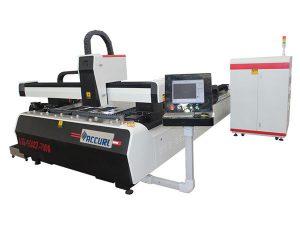 plat keluli aloi cnc serat laser mesin memotong dua kecekapan tinggi