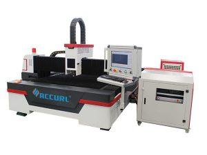 2000w / 3000w serat laser mesin pemotong logam ac380v 50hz sistem kawalan cypcut