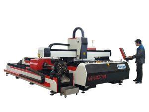 serat laser pemotong mesin 500w 800w 1kw 800mm / s kelajuan operasi
