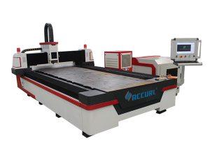 gentian optik jalan mesin pemotong laser industri padat dengan sistem bersarang automatik