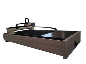 plat / tiub logam serat laser pemotong mesin meja kerja tunggal
