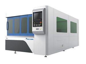1070nm panjang gelombang mesin perindustrian mesin pemotong laser / serat mesin pemotong laser