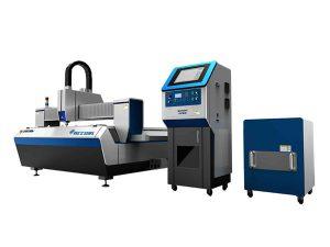 dual drive laser serat pemotong mesin memotong kelajuan tinggi untuk pemprosesan industri