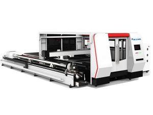 cnc serat laser mesin pemotong tiub 1000w dengan sistem kawalan cypcut