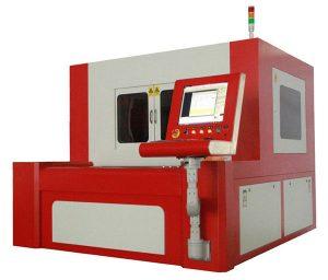 serat kecil mesin pemotong laser berketepatan untuk keluli karbon