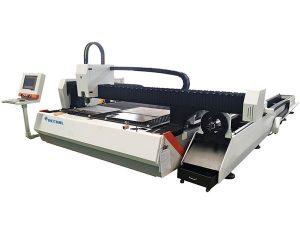 tiub logam serat laser memotong mesin 1500w kelajuan laras dengan pemakanan automatik